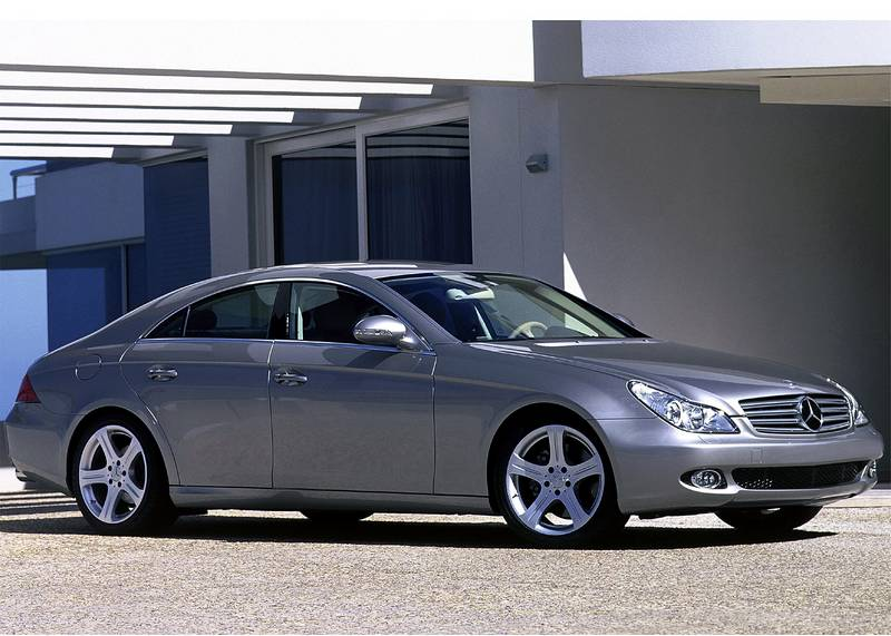 2006 mercedes benz cls class the blade. Black Bedroom Furniture Sets. Home Design Ideas