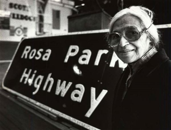 Civil Rights Pioneer Rosa Parks Dies At 92 Local Highway