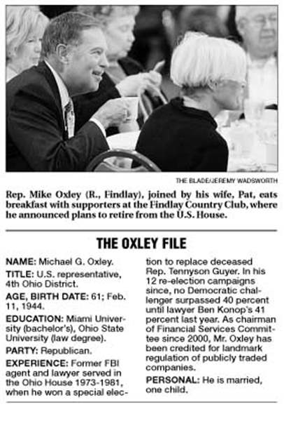 Oxley-to-retire-in-2007-GOP-congressman-cites-lengthy-career-in-politics-2