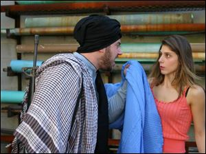 Brian Hillard plays a mullah and Elif Erturk is the daughter of