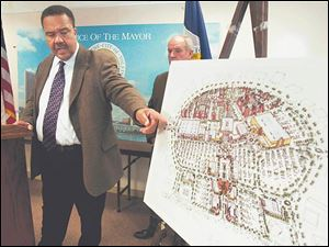 Mayor Jack Ford talks about the latest development plan a Perrysburg developer offers for Southwyck Shopping Center.