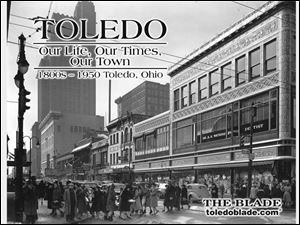The cover of Toledo, Our Life, Our Times, Our Town, the first of