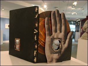 Terry Braunstein s Speak Hands is one of the works on display