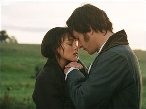 Keira Knightley and Matthew