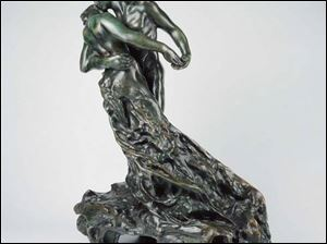 <i>The Waltz</i>, by Camille Claudel.