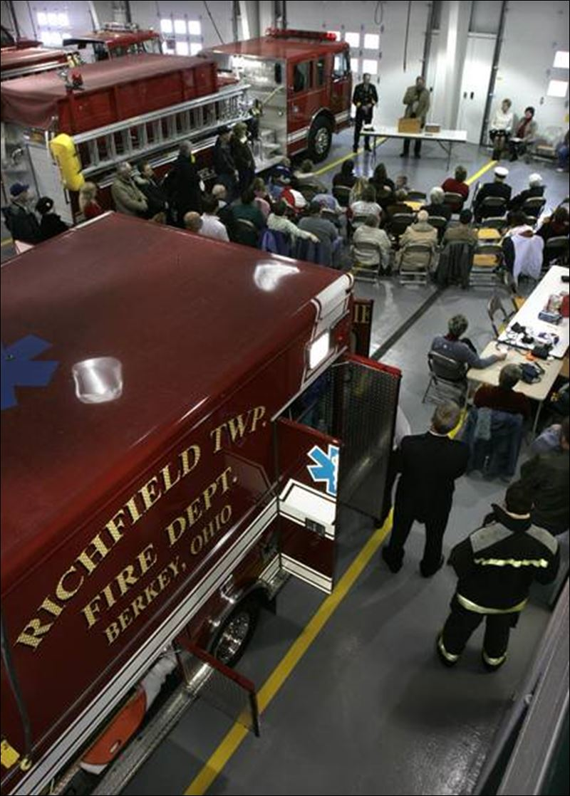 Richfield Township\'s new $1.4 million fire station has been in use for aboutrichfield township