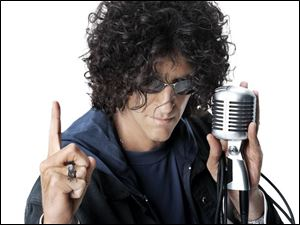 Howard Stern begins broadcasting on Sirius Satellite Radio Jan. 9.