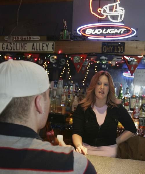 Busy Bartenders Keep Spirits Up On Holiday Shift