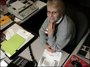 Sylvania Northview High School secretary Joanne Ehrsam, nicknamed 'Jo' by students, is a 1961 graduate of the school.