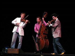 Time for Three, co-founded by Bowling Green s Zachary DePue, will perform at BGSU.