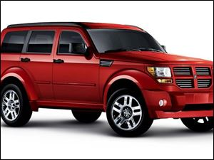 The Dodge Nitro is expected to increase production at Toledo Jeep, which is undergoing a $2.1 billion expansion.