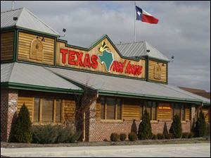Texas Roadhouse is on Airport Highway, just east of U.S. 23.