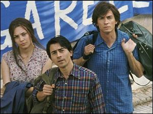 From left, Jasmine Trinca, Luigi Lo Cascio, and Alessio Boni in The Best of Youth.