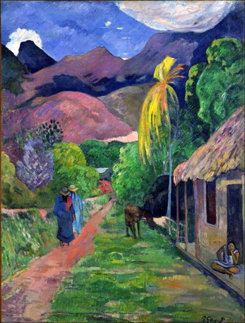 Heirs seek to avoid legal battle over gauguin painting for Road case paint