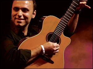 Guitarist Pavlo performs at 8 p.m. tomorrow in the Owens Community College Center for Fine and Performing Arts. Tickets are $16, $10 for students. Information: 567-661-2787.