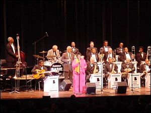 The Count Basie Orchestra will be in concert at 7 p.m. Sunday in the Franciscan Theatre & Conference Center of Lourdes College, 6832 Convent Blvd., Sylvania. Tickets are $25 from the Toledo Jazz Society, 419-241-5299.