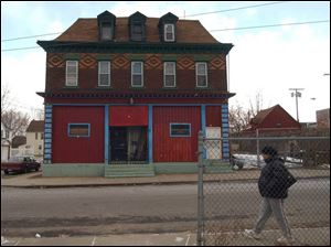 Authorities say much of the activity related to the Lackawanna Six terrorism case was centered at this storefront, which previously housed a delicatessen.