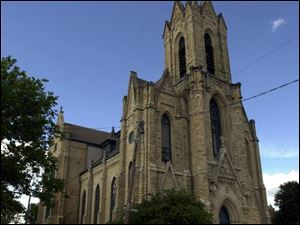 The funds could help restore the steeple of Historic Church of St. Patrick downtown.