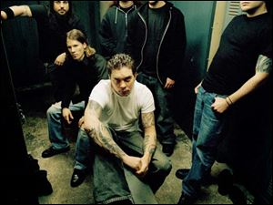 Chimaira, a Cleveland band, performs a mix of hardcore and metal.