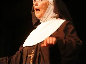 Rosemary O Brien plays Reverend Mother in the Toledo Repertoire