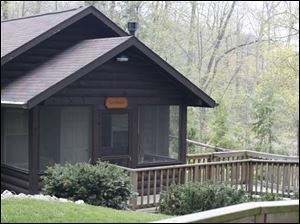In Sylvania, two log-cabin hermitages are set on the sprawling 89 acres owned by the Sisters of St. Francis.