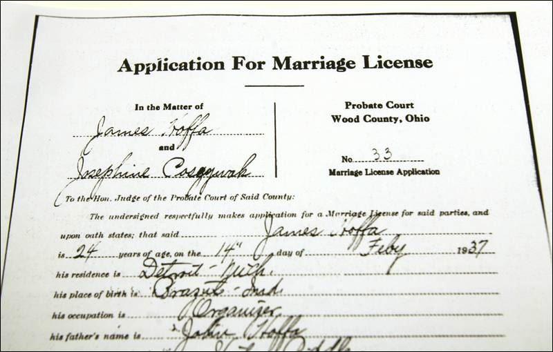 Marriage license toledo ohio