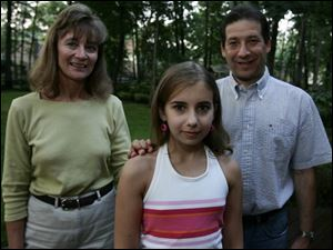 Darlene Logsdon and Michael Portnoy will be married today. Alyssa Portnoy, 12, is thrilled to be getting a new mother.