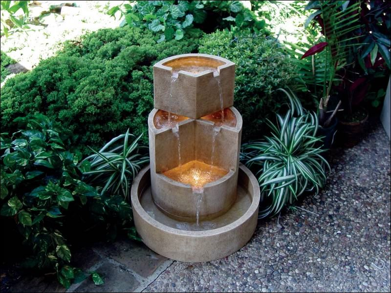 Go With The Flow Decorative Fountains Make A Stylish