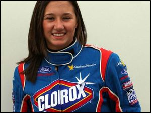 Stephanie Mockler will race in tomorrow night's United States Automobile Clu