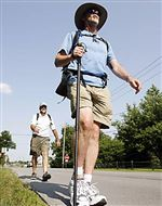 Cleveland-man-hikes-for-access-to-health-care