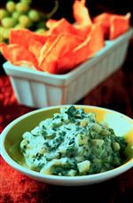 Grape-Raita-with-Toasted-Pitas