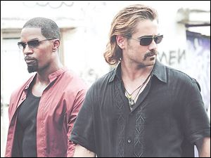 Collin Farrell plays Crockett, and Jamie Foxx is Tubbs, and like us, Mann isn't interested in another buddy-cop movie. So think of Miami Vice the movie as the anti-buddy cop movie.