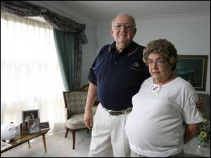 Dana Corp. retiree Tom McGannon, and his wife, Kathryn, have had excellent benefits.