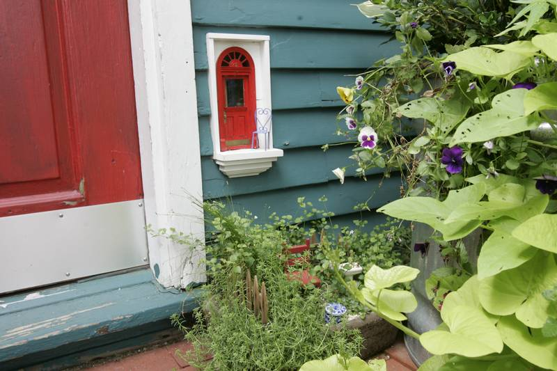 Ann Arbor Streets Are Dotted With Little Fairy Entryways