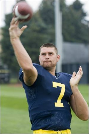 Chad Henne is 16-8 as UM's QB but 0-2 against Ohio State and 0-2 against Notre Dame.