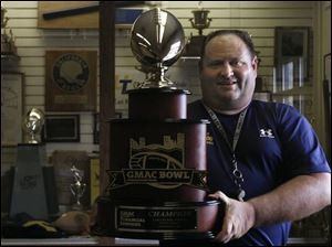The University of Toledo lost several key players, but Tom Amstutz is hoping his team can add another GMAC Bowl trophy.