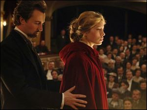 Edward Norton stars as a magician and Jessica Biel portrays