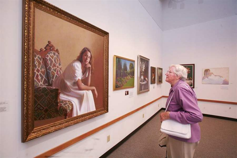 Exhibit-at-Bluffton-University-features-works-by-late-area-man