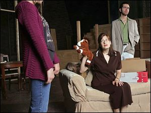 The cast of Bowling Green State University s The Land of