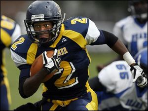 Whitmer s Anthony Allen leads the City League in rushing with 731 yards on 97 carries. The junior has run for seven touchdowns and caught three TD passes.
