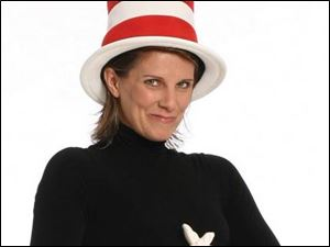 Shorey Walker as the Cat in the Hat in Seussical.