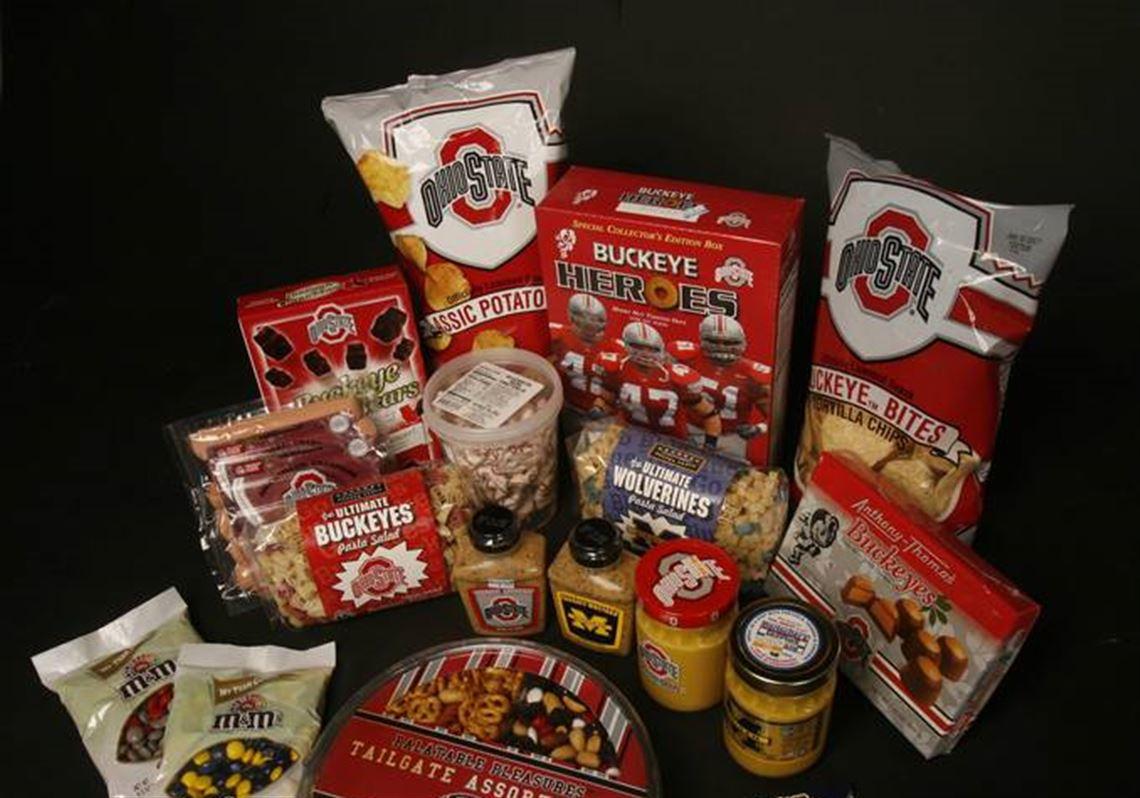 best service 93a2e e3776 Grocery-store shelves show plenty of team spirit   Toledo Blade