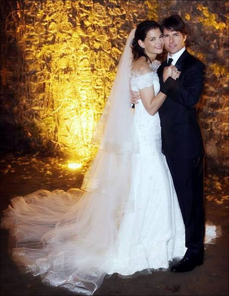 Katie Holmes, Tom Cruise wedding portrait - Toledo Blade