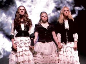 From left, Emily Robison, Natalie Maines, and Martie Maguire in Shut Up & Sing.