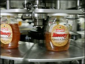 Honey packaged by Golden Heritage accounts for an eighth of U.S. consumption.