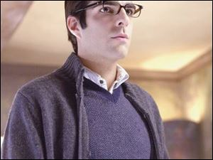 Zachary Quinto plays Sylar, a villain who absorbs the powers of his victims on NBC's freshman hit, Heroes.