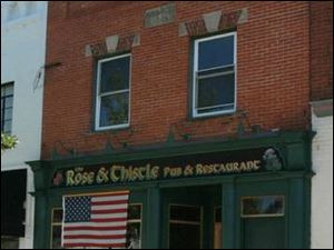 The Rose & Thistle is on Louisiana Avenue in Perrysburg.