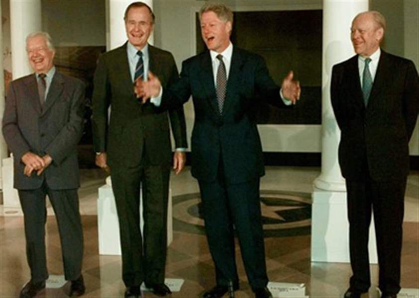 Gerald Ford Nation S 38th President Dead At Age 93 The