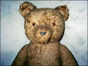 A clue to the teddy bear s age