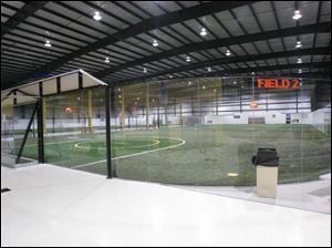 The Gold Medal Indoor Sports facility hosts indoor soccer, flag football, volleyball, lacrosse, and futsal, a form of soccer. It's used primarily by indoor soccer enthusiasts.